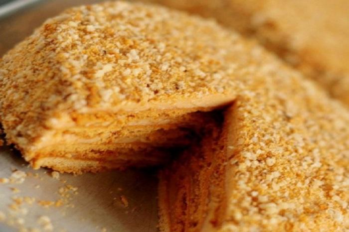 Каллорий торта медовик